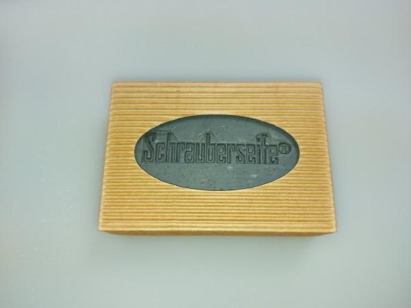 Schrauberseife ® handgefertigte Naturseife mit frischem Parfüm (Sailor) und Kaffeesatz
